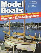 STEAM GUNBOATS of the Rayal Navy - 1942 - 1956 - Model Boats Magazine June 1979