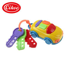 CIKOO Vintage Baby Toddler Learning Fun Toy Music Car Wash Keys Educational Toys