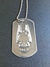Halo ODST Symbol Dog Tag Necklace Video Game halo dog tags stainless steel