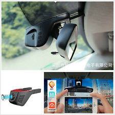 Black HD 1080P Car SUV Hidden WiFi Stealth Night Vision Cam Camera DVR Recorder