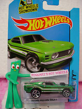 Case P 2014 i Hot Wheels '70 FORD MUSTANG MACH 1 1970 #97~Green;mc5~Mustang 50