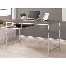 H-Desks-Writing Desk - Desk (Weathered Grey) 801271
