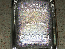 Chanel Vernis DUO PLATINUM HOLOGRAPHIC Polish Limited Super RARE NEW!!