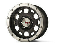 TOYOTA TACOMA FJ CRUISER TRD 16-in. Off-Road Beadlock-Style Wheels BLACK OEM