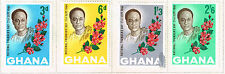 Ghana National Founders Day Flowers set 1964 MLH