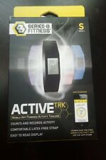 Series 8 Fitness Active Trk Mobil App-Powered Activity Tracker Black Band Small