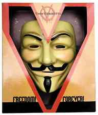 V for Vendetta Mask Collector Edition Guy Fawkes Fancy Dress Costume Accessory