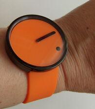 Rosendahl 43374 PICTO Watch Uhr schwarz orange Durchmesser 40 mm Danish Design