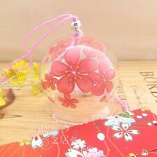 Japanese Traditional Culuture Glass Wind Chime Bell Edo Furin Summer Cool Sakura