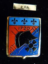 INSIGNE MILITAIRE Pucelle Armée Arthus Bertrand 4° RA ARTILLERIE NAPOLEON
