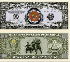National Rifle Association Million Dollar Novelty Money