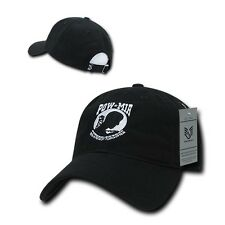 Prisoner of War Missing In Action POW MIA Military Polo Low Crown Baseball Cap