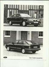 "FORD SCORPIO  PRESS PHOTO ""sales brochure related""  1990 1991 'H' REGISTERED"