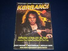 1984 JUNE 28-JULY 11 KERRANG! MAGAZINE - RONNIE JAMES DIO - MUSIC ISSUE - A 1963