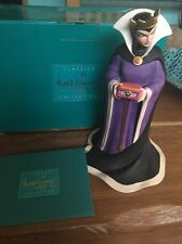 "A DISNEY WDCC SNOW WHITE'S EVIL QUEEN ""BRING BACK HERE HEART"" WITH COA & BOX"