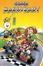 Super Mario Kart Large Poster. NEW. Officially Licensed. Nintendo