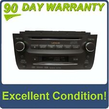 2007 LEXUS OEM Mark Levinson SAT Radio Tape Cassette 6 Disc CD Player P1504