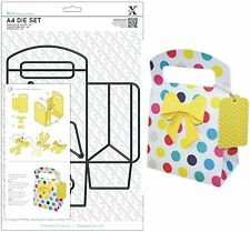 DOCRAFTS XCUT A4 CUTTING DIE SET GIFT BAG, BOW & TAG - NEW UNIVERSAL FIT