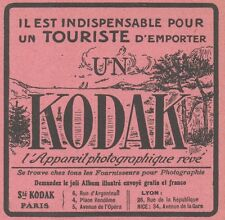 Z8501 Appareil Photographique KODAK - Pubblicità d'epoca - 1913 Old advertising