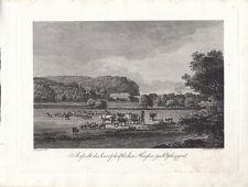 Rittergut Potschappel Sachsen Freital Orig Radierung Darnstedt 1799