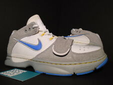 2007 Nike ZOOM KOBE TRAINER 1 RACE HORSE MPLS LAKERS WHITE GREY BLUE SILVER GOLD