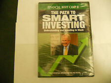 FINANCIAL BOOT CAMP II THE PATH TO SMART INVESTING Pat Robertson NEW-SEALED