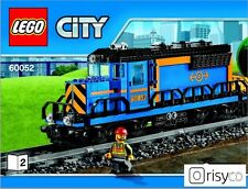 Lego® City Lok Zug Güterzug (60052) NEU auf 9V umbaubar ## 60098 ohne Power Fkt.