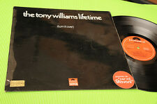 TONY WILLIAMS LP TURN IT OVER ORIG UK 1970 EX LAMINATED COVER !!!!!!!!