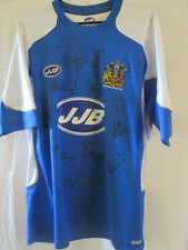 Wigan Athletic 2006-2007 Squad Signed Home Football Shirt with COA /8397