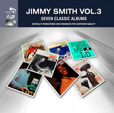 Jimmy Smith SEVEN (7) CLASSIC ALBUMS VOL 3 Bashin' PLAYS FATS WALLER New 4 CD
