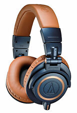 Audio-Technica ATH-M50 Headband Headphones - Limited Edition Brown/Blue