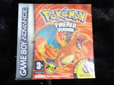 POKEMON FIRE RED  - NINTENDO GAME BOY ADVANCE SEALED GAME - OFFICIAL UK RARE