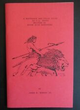 REFERENCE & PRICE GUIDE TO US BOOKS WRITTEN BY EDGAR RICE BURROUGHS~JAMES BERGEN