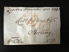 WILLIAM TOOKE - LAWYER , M.P. & PRESIDENT SOCIETY OF ARTS - SIGNED ENVELOPE 1833