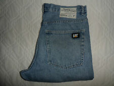 "W34 L32 CATERPILLAR Blue Denim Jeans SIZE Waist 34"" Leg 32"" CAT"