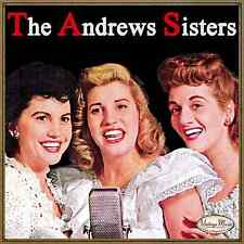 THE ANDREWS SISTERS CD Vintage Vocal Jazz / Carmen's Boogie , Near You , Daddy