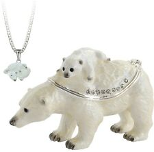 TRINKET BOX - Secrets Arora  - POLAR BEAR
