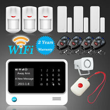 WiFi GSM Internet Home Security Alarm Burglar System Auto Dialer PIR Motion