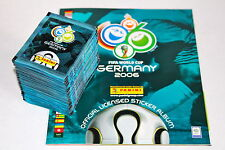 Panini WC WM Germany 2006 06 – 100 TÜTEN PACKETS BUSTINE SOBRES + ALBUM, MINT!