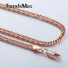 9 k Real  Gold Filled Mens , Unisex Chain Deluxe Perfect Look 44.7cm 4 mm