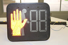 LED Pedestrian Traffic Timing Light - Timer