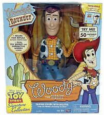 Official TOY STORY signature COLLECTION WOODY THE SHERIFF 40CM poupée