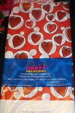 """54"""" x 108"""" Red Heart Valentives Day Wedding Reception Party Tablecloth 361"""