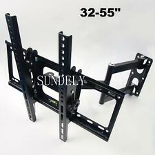 "32-55"" INCH LCD LED PLASMA TV WALL MOUNT BRACKET TILT SWIVEL CORNER HEAVY DUTY"