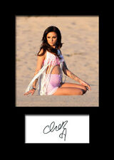 CHER LLOYD #1 Signed Photo Print A5 Mounted Photo Print - FREE DELIVERY
