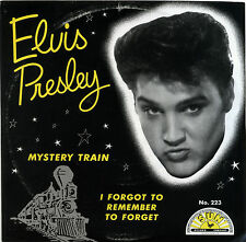 "ELVIS PRESLEY  ""I FORGOT TO REMEMBER TO FORGET""  SUN  RECORDS  RED VINYL  LISTEN"