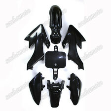 Black Plastic Fairing Body Kit For CRF50 XR50 50cc 70cc 90cc-160cc Dirt Pit Bike