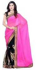 Bollywood Women's Indian Ethnic Designer Georgette Party Wear Saree(50009)