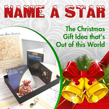 NAME A STAR FOR CHRISTMAS - PERSONALISED AND FRAMED (IN SUPERB GIFT BOX)