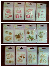 144 packs Handmade stickers, for greeting / place cards, scrap booking, invites
